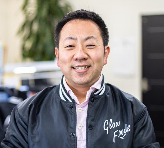 グローフーズ株式会社代表取締役井ノ元豊